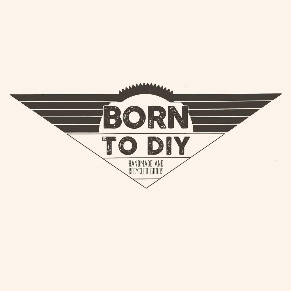 Logo For Born To DIY Handmade Crafts