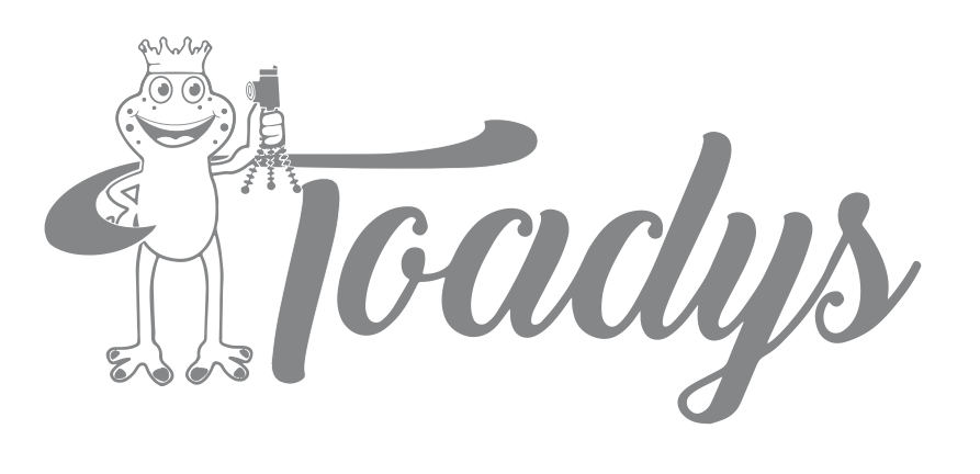 Toady Logo Single Color Print