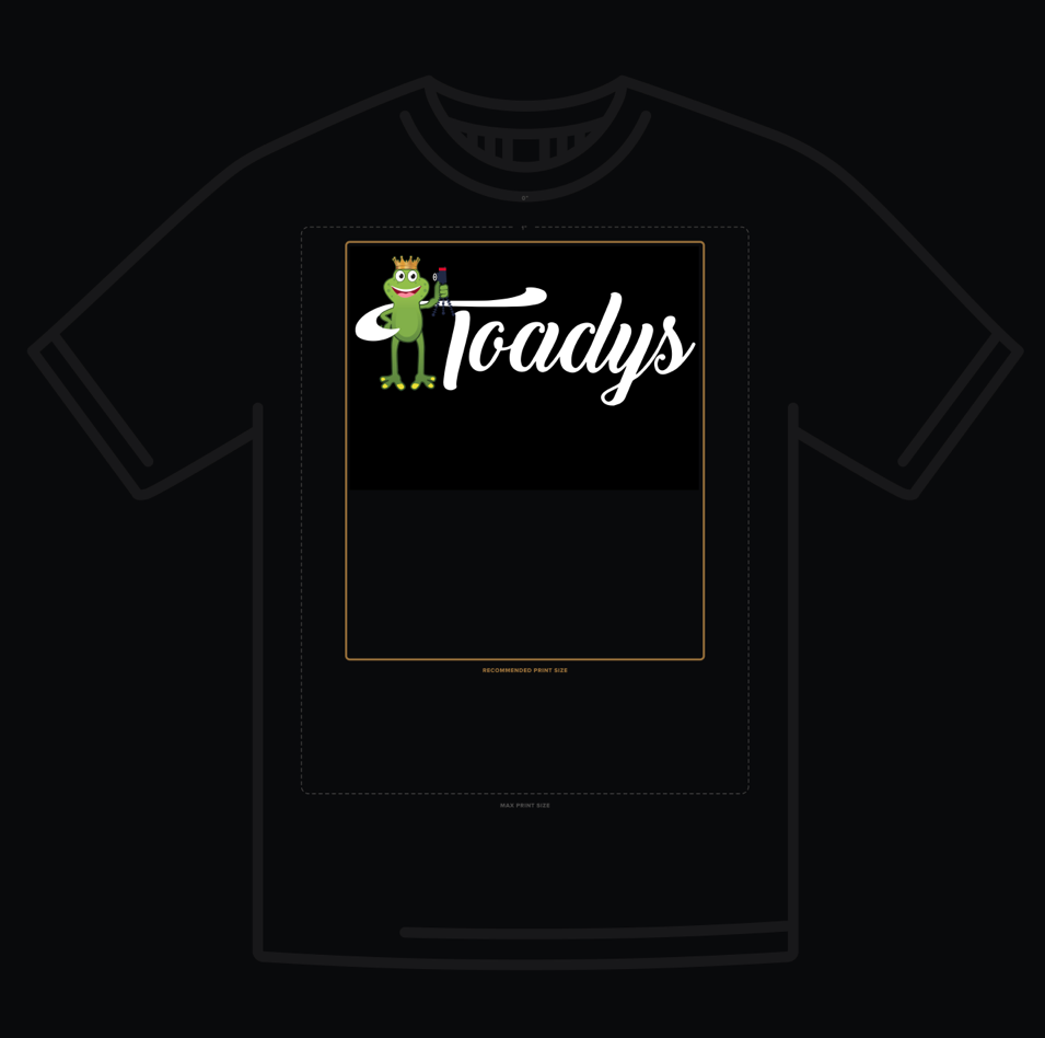 Toadys T Shirt Desgn