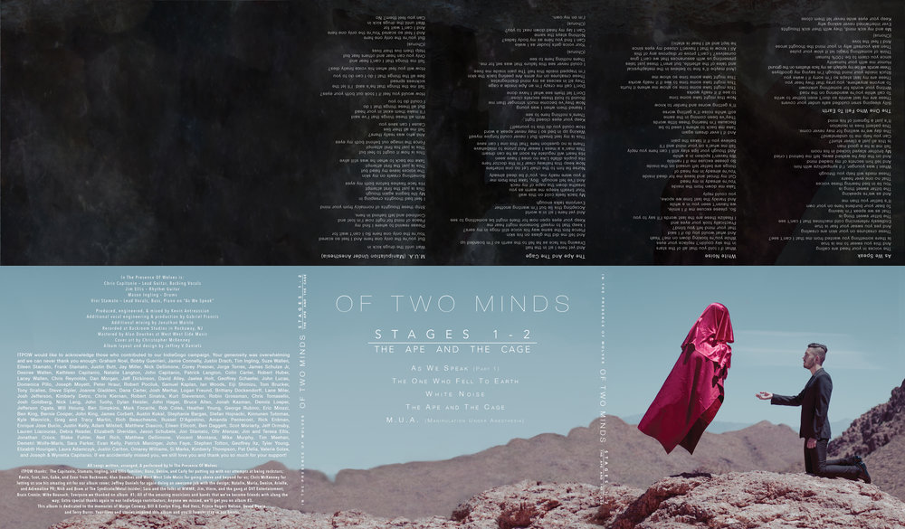 Album Layout For In The Presence Of Wolves