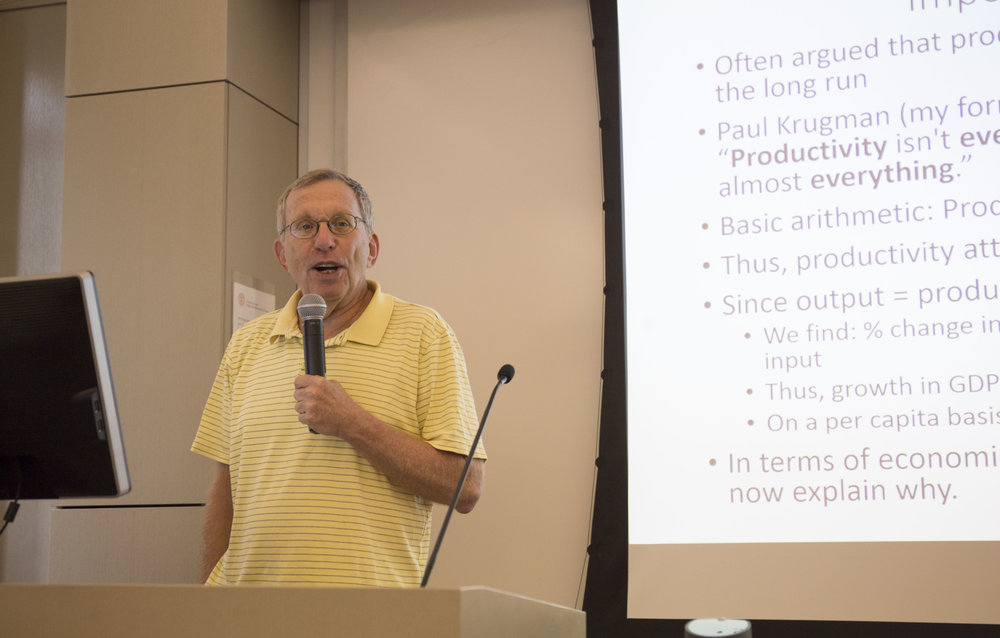 Prof. Jerry Hausman:诺奖级经济学家,M.I.T. 终身教授