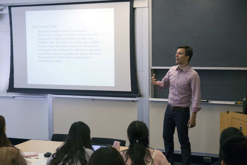 Prof. Matthew Backus:哥伦比亚大学商学院教授