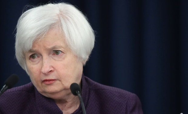 Federal Reserve Chairwoman Janet Yellen. (Photo via CBC)