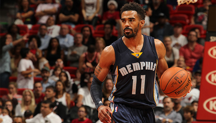 Memphis Grizzlies point guard Mike Conley Jr. (Image via NBA.com)