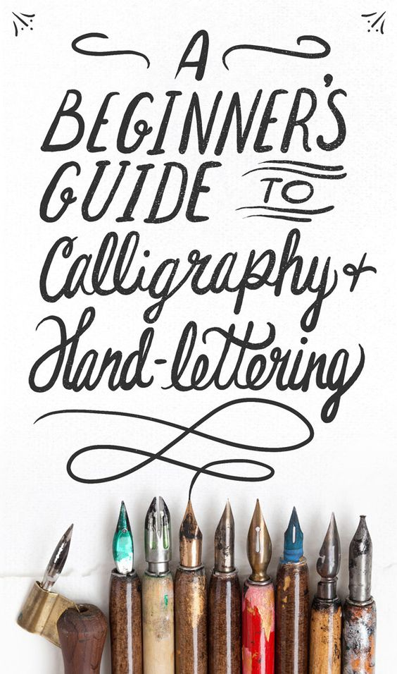 Beginners Guide to Calligraphy & Hand-Lettering