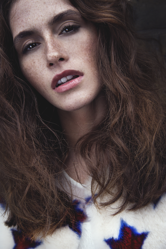 Natural Freckles on Fracesca Chantelle by Lee Malone
