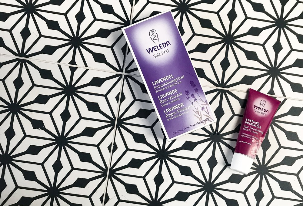 Weleda Lavender Bath + Evening Primrose Hand Cream