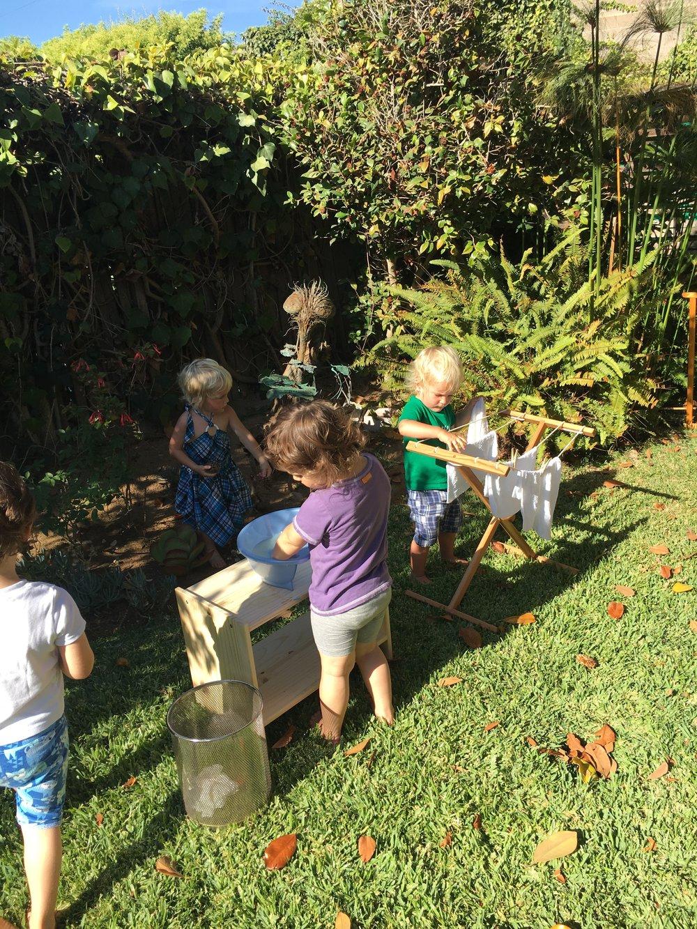 Montessori Outside Toddler Outdoor Environment Lida