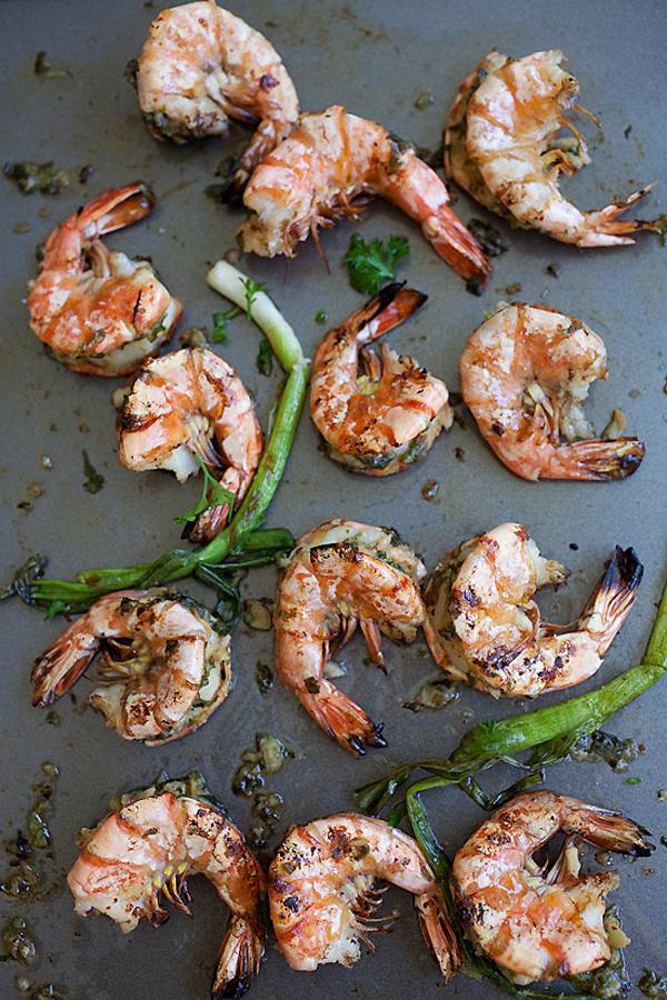 Kimchi Miso Shrimp