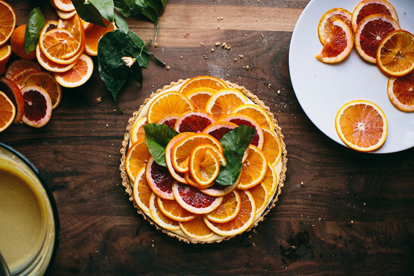 Happyolks Orange Tart
