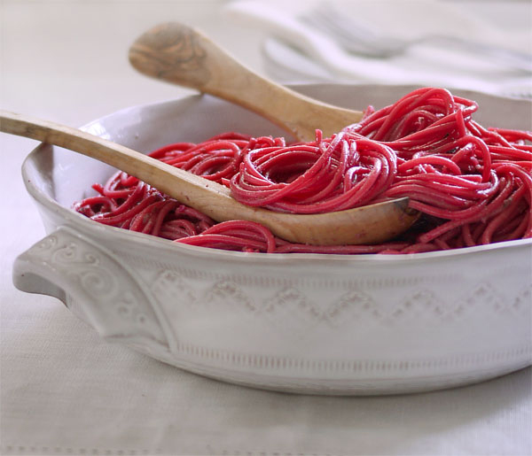 Beet Pesto Pasta | Honest Fare