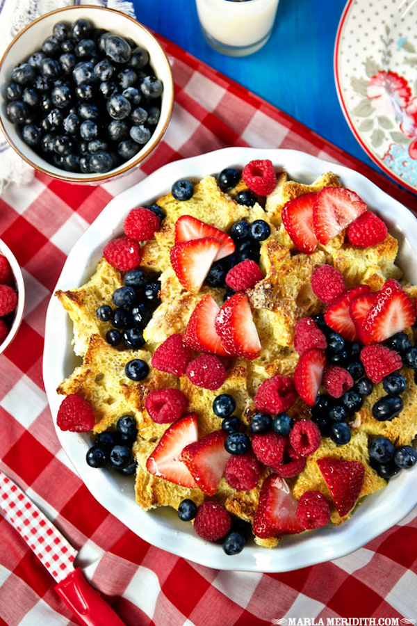 French Toast with Berries and Vanilla Syrup | Family Fresh Cooking