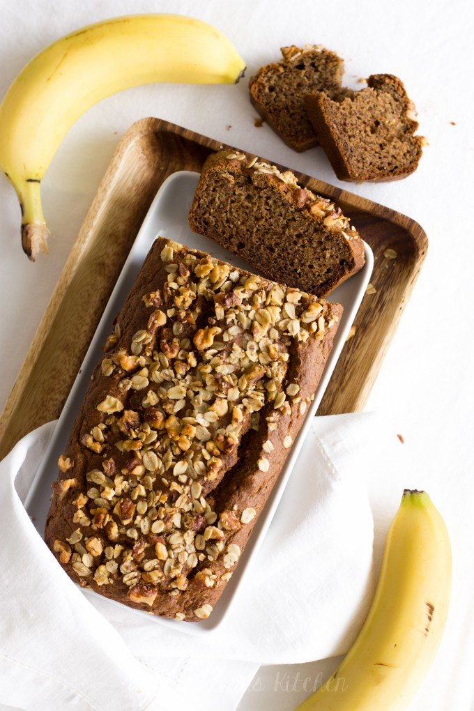 Healthy Banana Bread | Kiddielicious Kitchen