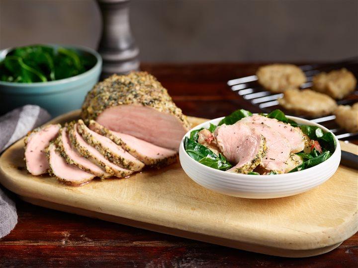 Lemon-Herb Roasted Pork Sirloin Recipe
