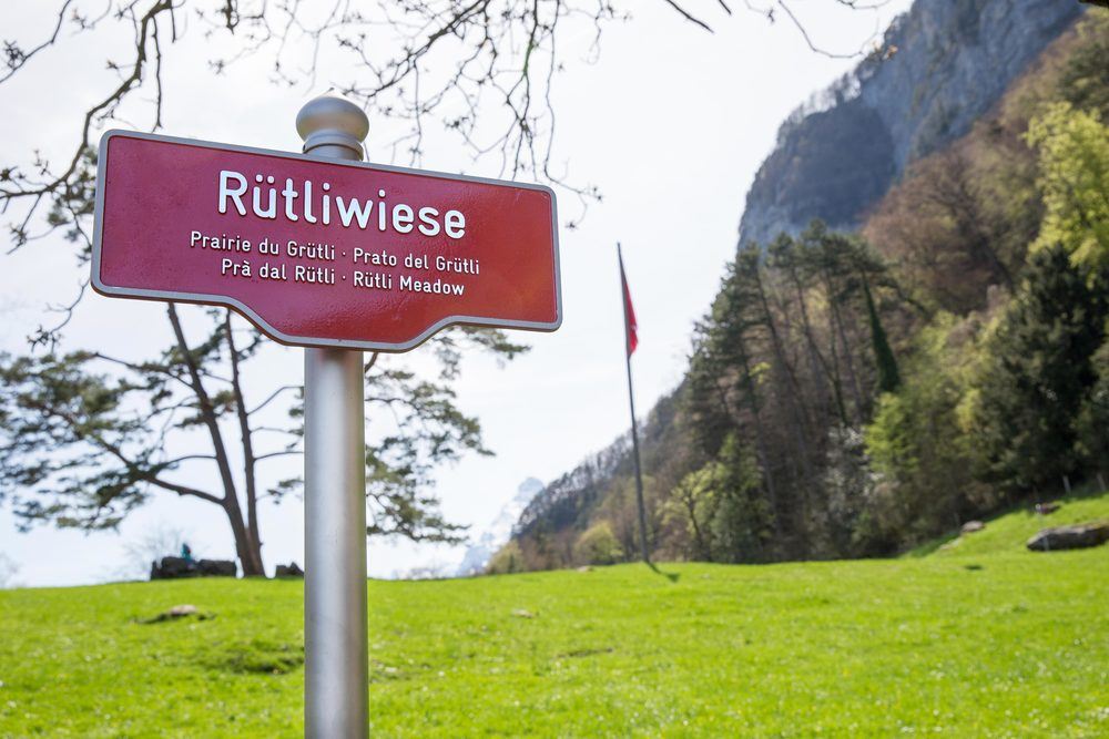 Rütli Meadow, Uri, Switzerland — Something Swiss