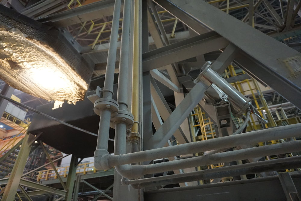 FLIR camera in industrial enclosure