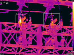 Hot spots - evident with thermal imaging - are an indication of impending failure.