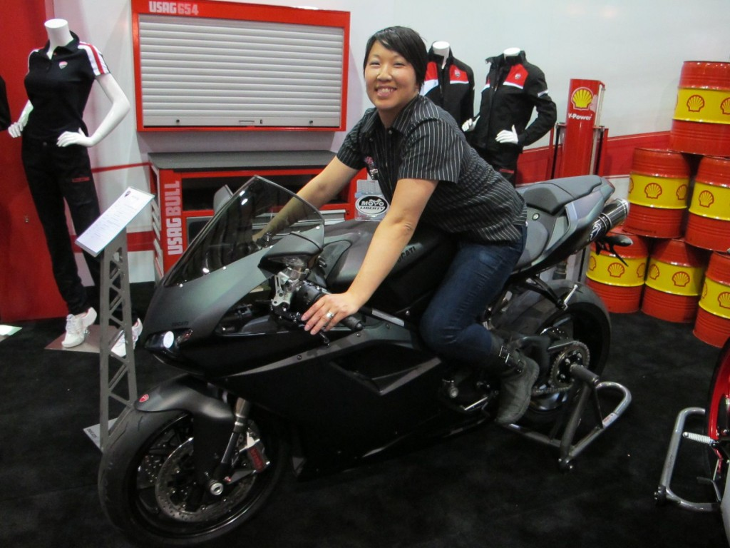 Ducati Motorcycles Women San Francisco 848