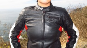 Front view of Dainese Cage jacket