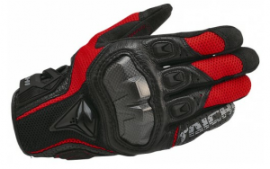 RS Taichi Armed Leather Mesh Gloves Womens Size