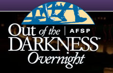 Out of the Darkness Overnight Suicide Prevention Event June 9-10, 2012
