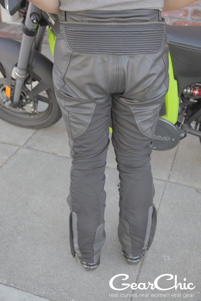Gear 2 pants, from the back; wearing size 38