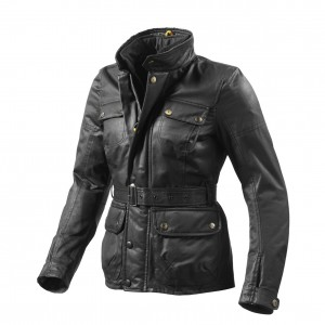 REV'IT Womens Motorcycle Jacket Vintage Cafe Wax Cotton