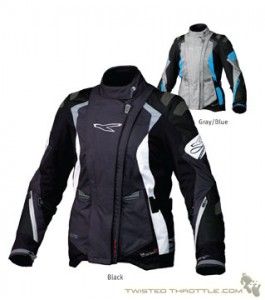 Macna Womens Textile Waterproof Winter Motorcycle Jacket