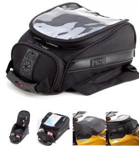 Motocentric MotoTrek 14 Liter Magnetic Tank Bag Hydration Bladder