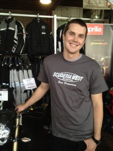 Scuderia West Motorcycle shirts san francisco