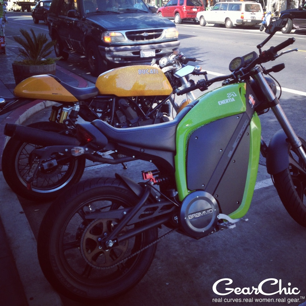 brammo enertia electric motorcycle san francisco