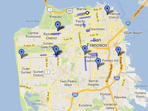 visiting san francisco neighborhoods restaurants cheap