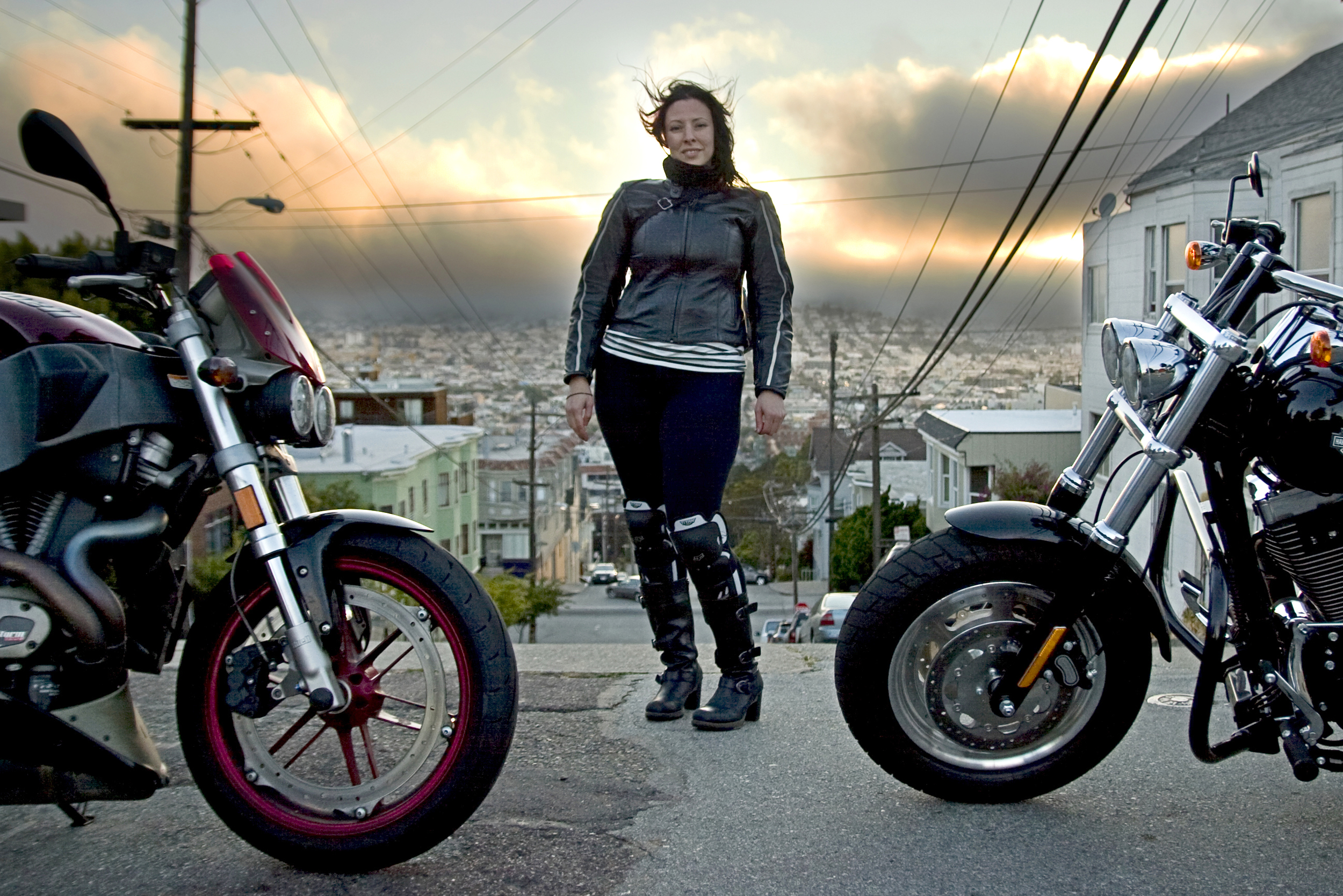 Motorcycle gloves san francisco - Dainese Sf Lady Leather Jacket San Francisco Photographer Motorcycles Motoperture