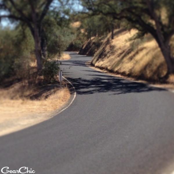 Rossi's Driveway aka Highway 229 california twisties motorcycles