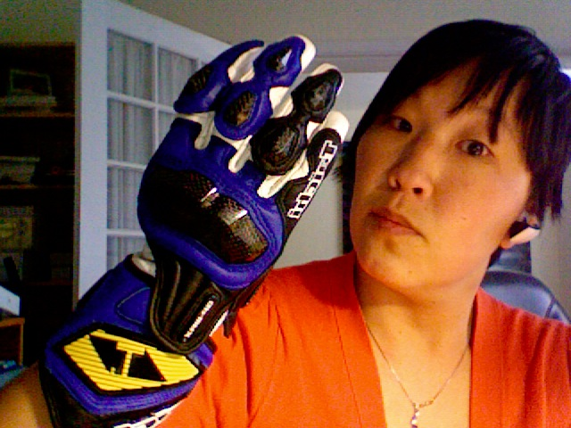 RS Taichi GP-WRX Gloves, Front