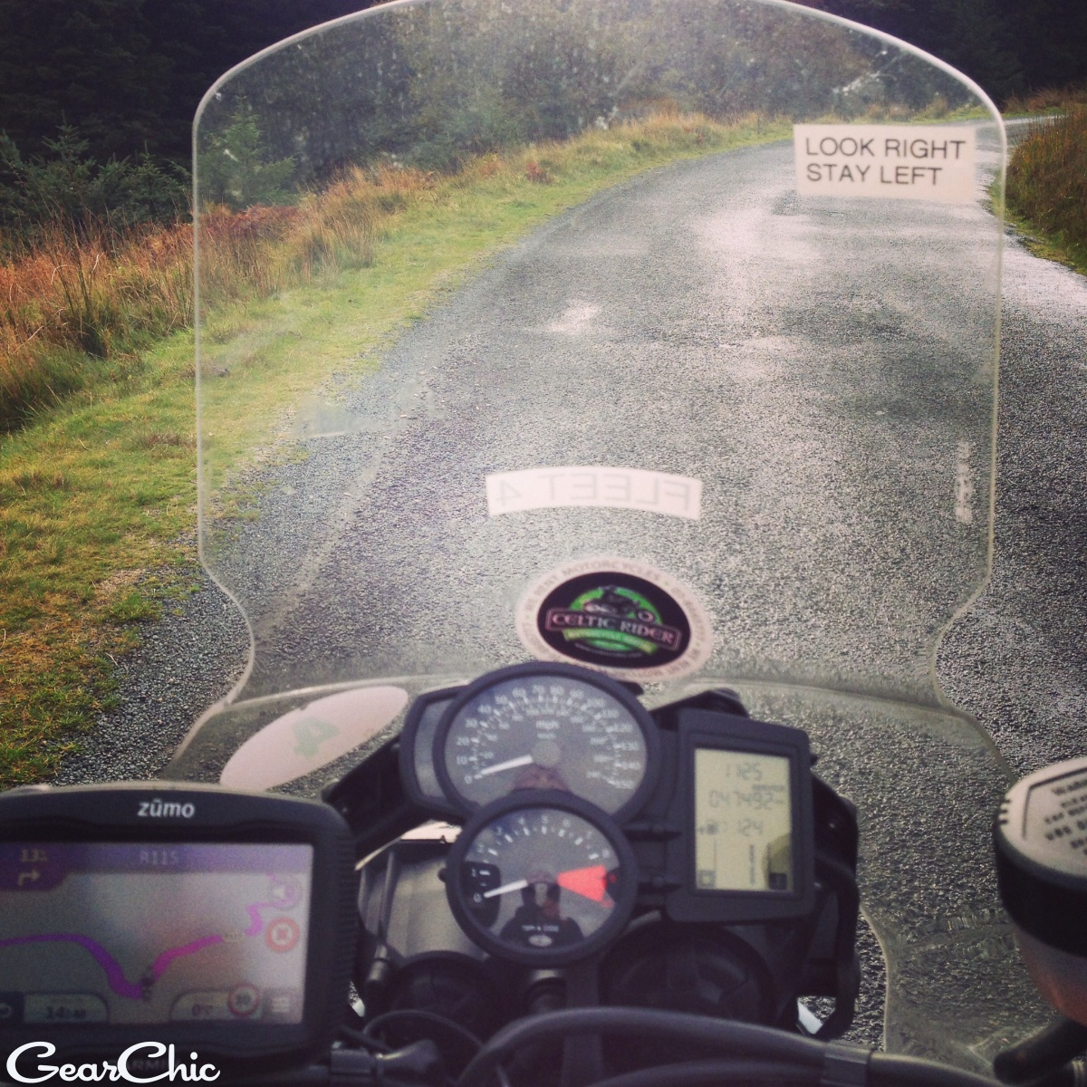 riding in ireland bmw f800gs