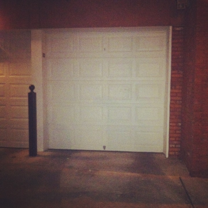 GARAGE! to park our motorcycles!!