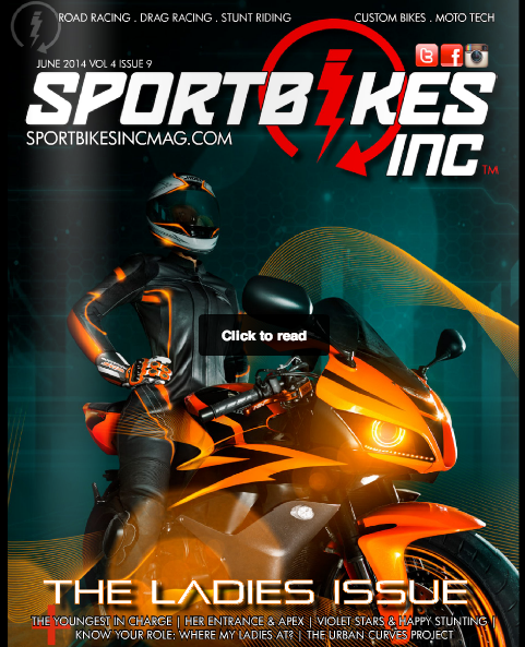 Special Issue of SportbikesInc Magazine, Ladies Edition