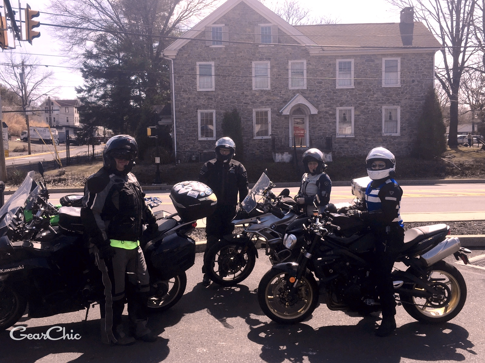 triumph street triple R motorcycles riding pennsylvania