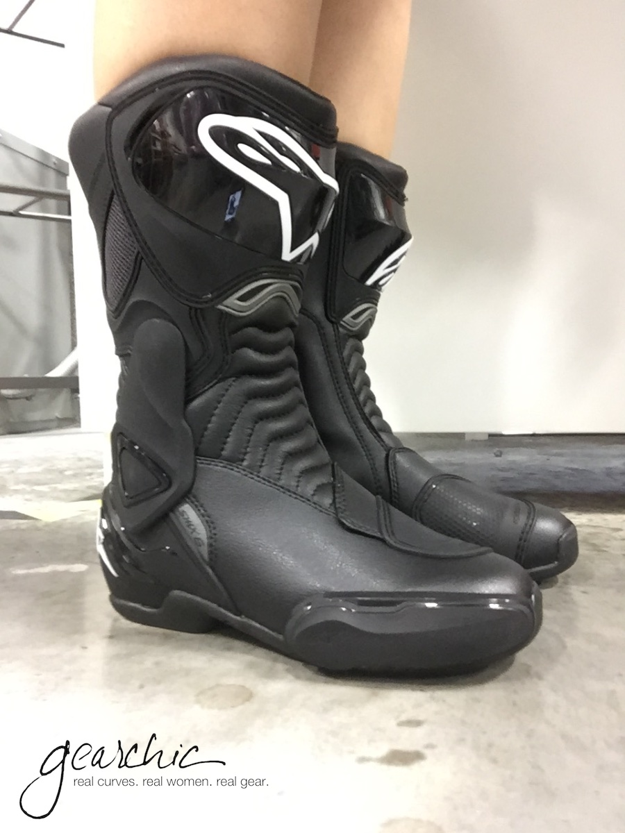 alpinestars smx 6 womens motorcycle boots review by. Black Bedroom Furniture Sets. Home Design Ideas