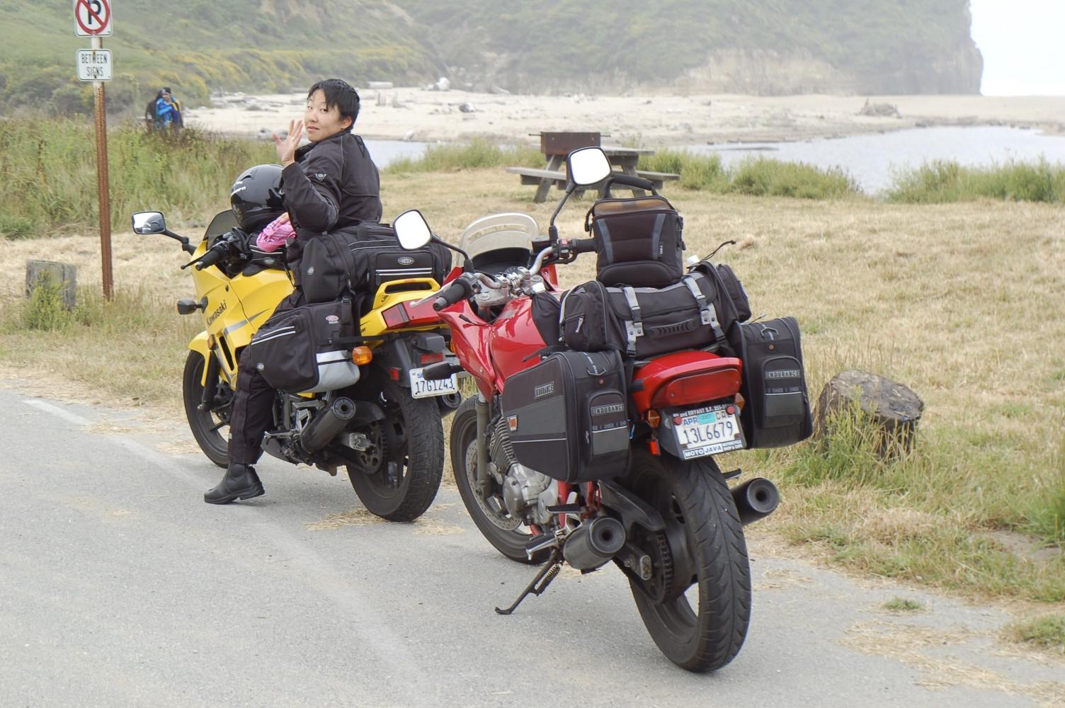 Kawasaki Ninja 250, SF to LA