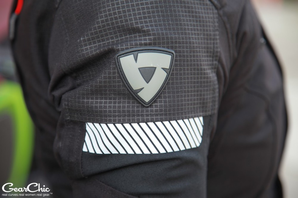 REVIT Legacy GTX Jacket - reflectors on the arm