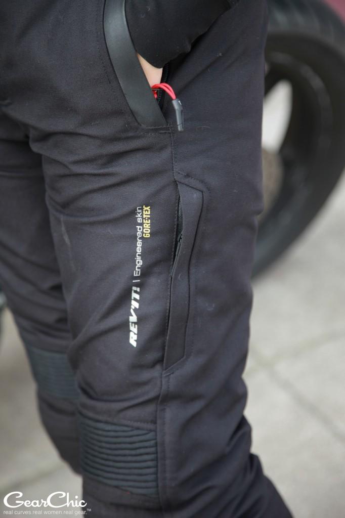 REVIT Legacy GTX pants - leg vent