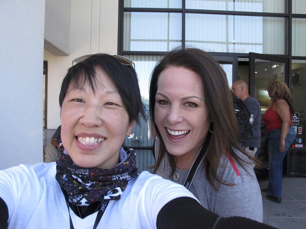 Me and Sarah Schilke
