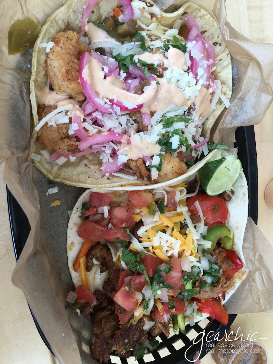 Crazy tacos from Torchys