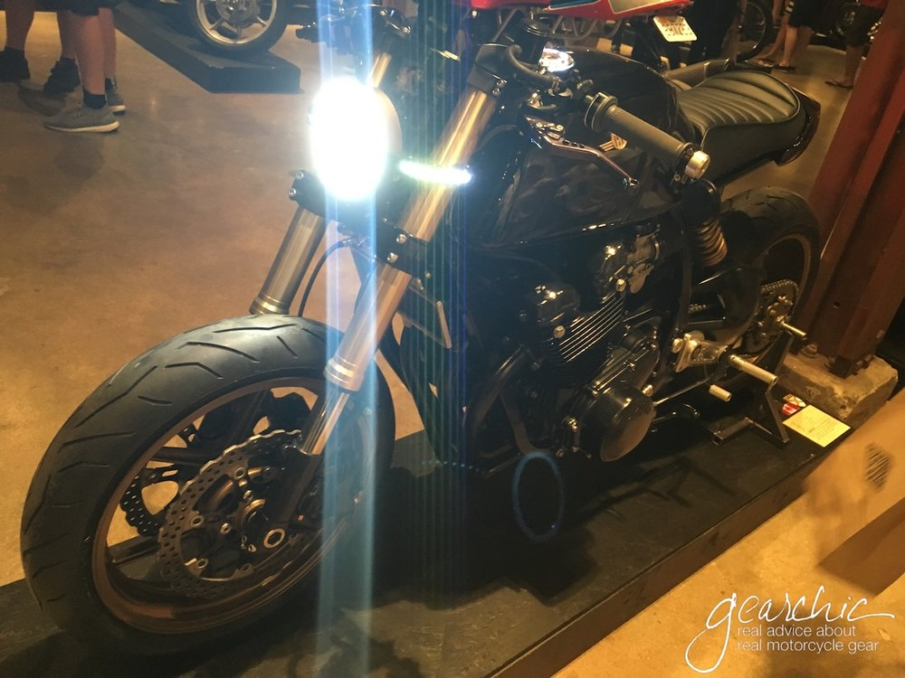 Nice Motodemic Headlight Conversion