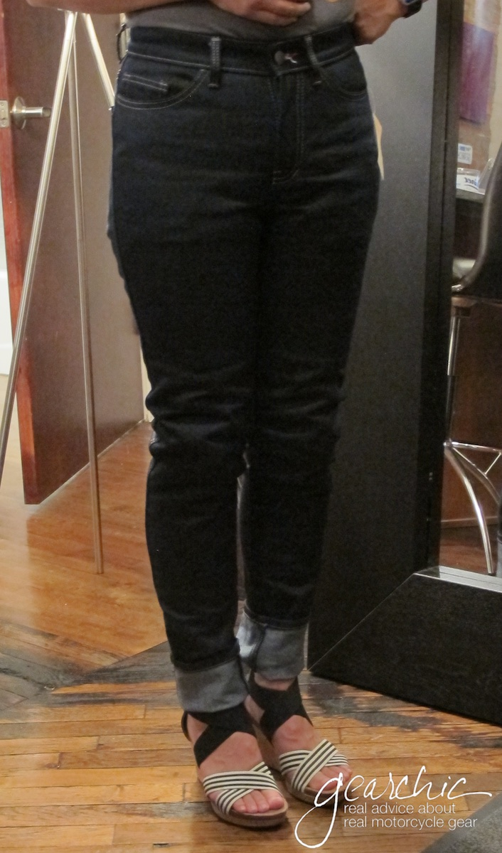 Worse For Wear Custom Riding Jeans just for Women