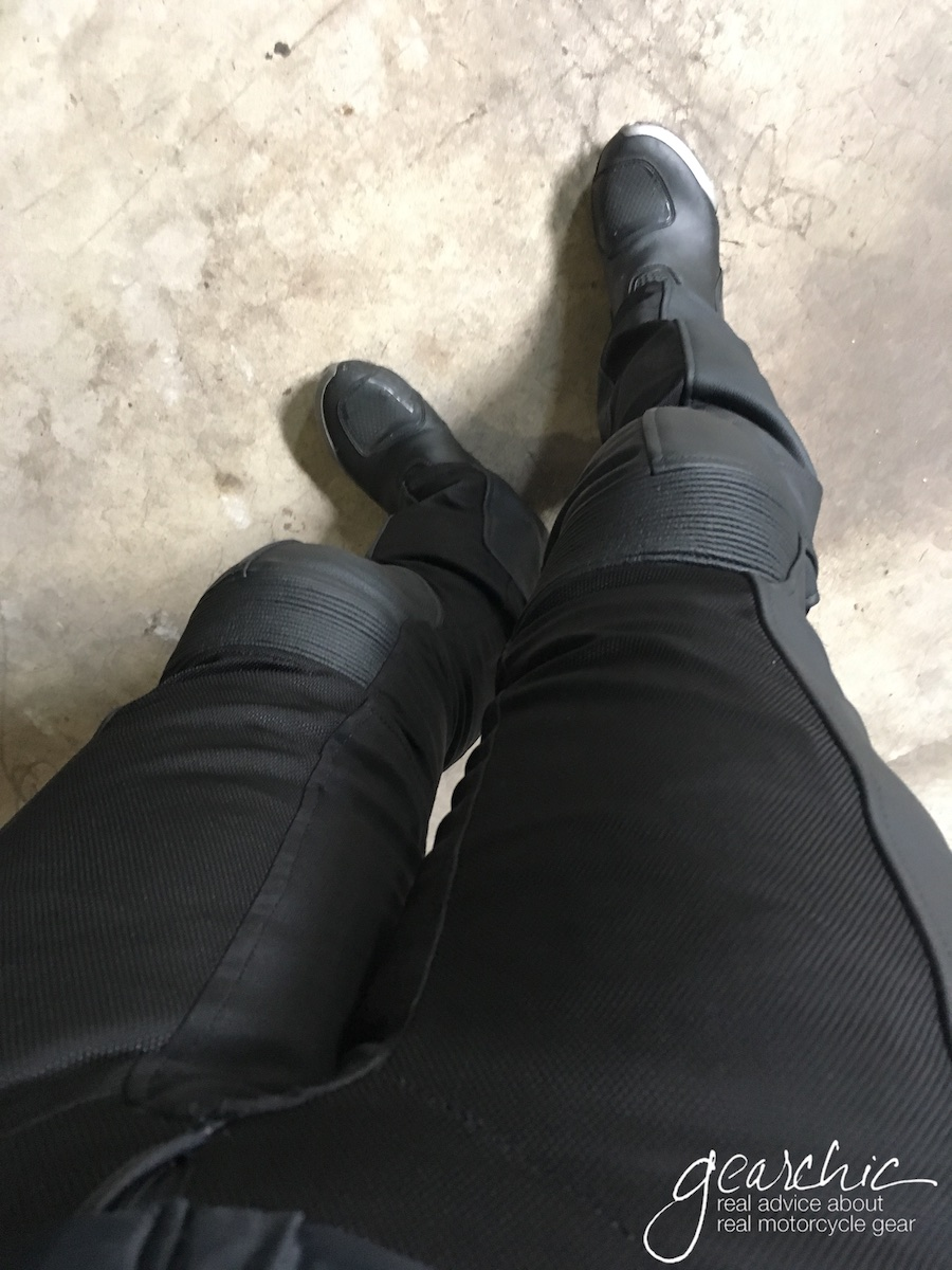 Rev'it Gear 2 Leather Mesh Pants