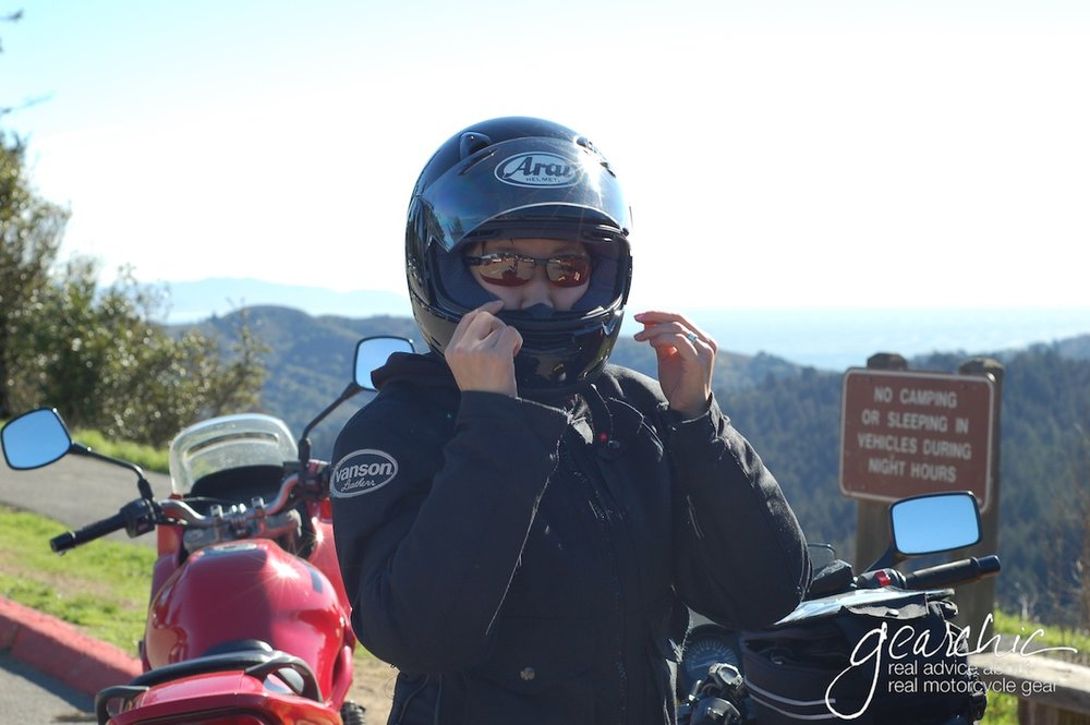 Me in 2006, on my first bike, a 2003 Ninja 250, on our first Real Road Trip from San Francisco to Los Angeles.