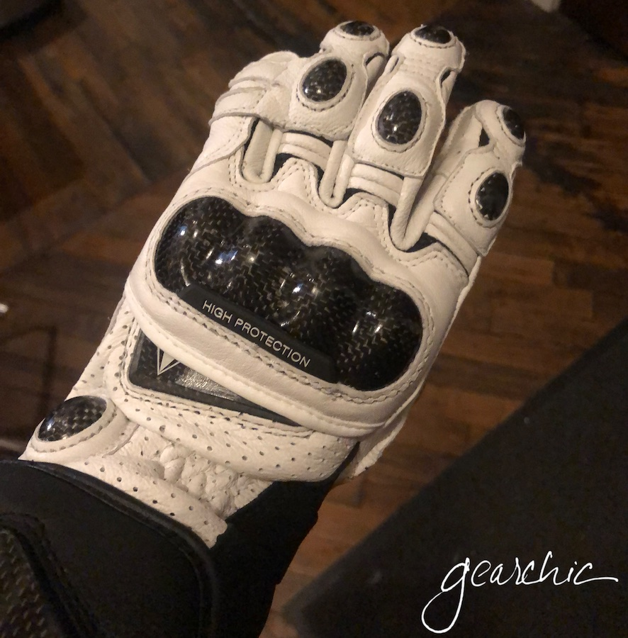 I'm breaking in my new gloves at home a little bit. Wearing them while I watch tv for ~10-20 minutes to see if they're going to work or not. Remember, just like a new helmet,  The First Minute is the Worst Minute.